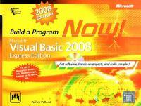 Build A Program Now!