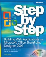 Building Web Applications With Microsoft Office SharePoint Designer 2007