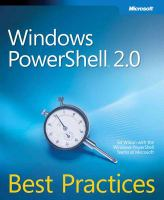 Windows PowerShell 2.0