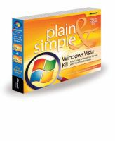 Windows Vista Plain & Simple Guide to Helping Family & Friends