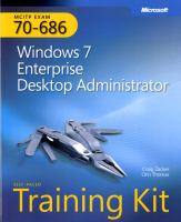 MCITP Self-paced Training Kit (exam 70-686)