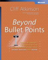 Beyond Bullet Points