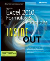 Microsoft® Excel® 2010 Formulas and Functions Inside Out