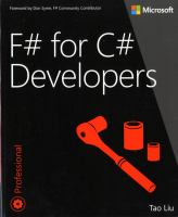 F♯ for C# Developers