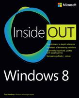 Windows® 8 Inside Out