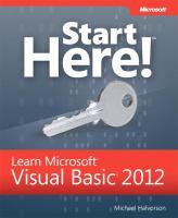 Learn Microsoft Visual Basic 2012