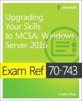 Exam Ref 70-743