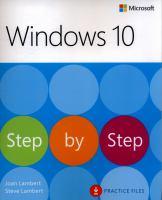 Windows 10 Step by Step