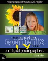 The Photoshop Elements Book for Digital Photographers