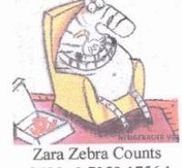 Zara Zebra Counts