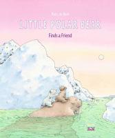 Little polar bear finds a friend