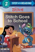 Stitch goes to school