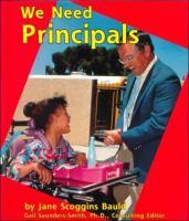 We Need Principals