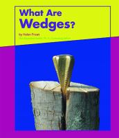 What Are Wedges?