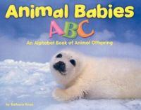 Animal Babies ABC