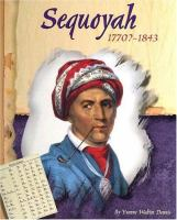 Sequoyah, 1770?-1843