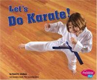 Let's Do Karate!
