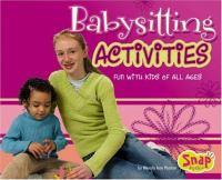 Babysitting Activities