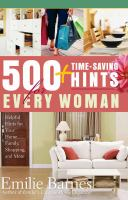 500+ Time-saving Hints for Every Woman