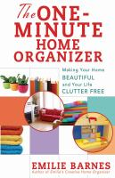 The One-minute Home Organizer