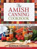 The Amish Canning Cookbook