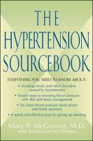 The Hypertension Sourcebook