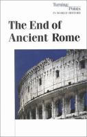 The End of Ancient Rome
