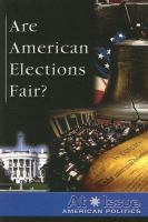 Are American Elections Fair?