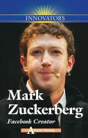 Mark Zuckerberg, Facebook Creator