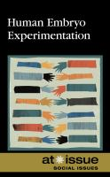 Human Embryo Experimentation