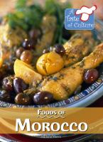 Foods of Morocco