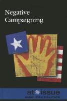 Negative Campaigning