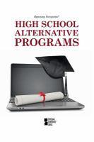 High School Alternative Programs