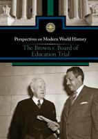 The Brown V. Board of Education Trial