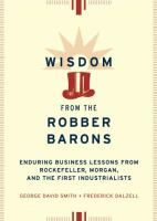 Wisdom From the Robber Barons