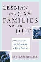 Lesbian and Gay Families Speak Out