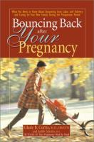 Bouncing Back After your Pregnancy