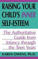 Raising your Child's Inner Self-esteem