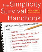 The Simplicity Survival Handbook