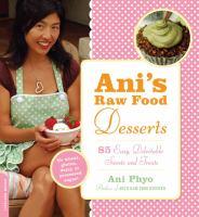 Ani's Raw Food Desserts