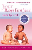 Your Baby's First Year Week by Week