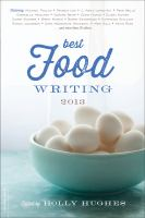 Best Food Writing 2013