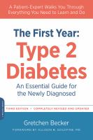 The First Year--Type 2 Diabetes