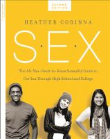 Cover of SEX: The All-You-Need-To-K