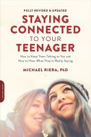 Staying Connected to your Teenager