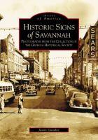Historic Signs of Savannah