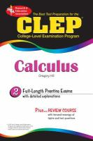 The Best Test Preparation for the CLEP Calculus