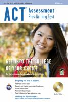 ACT Assessment Plus Writing Test