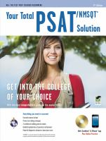 Your Total PSAT/NMSQT Solution