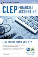CLEP Financial Accounting